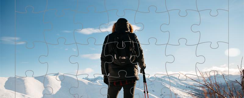 puzzle personalizzabile
