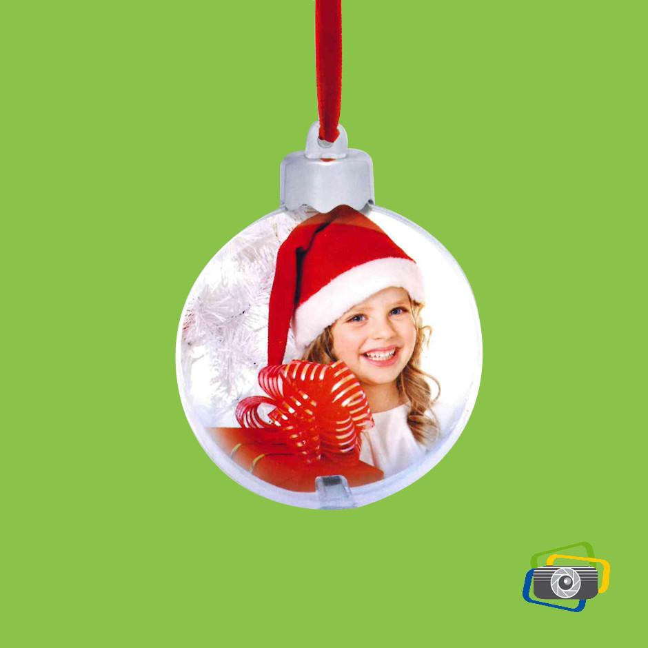 palla di Natale grande trasparente