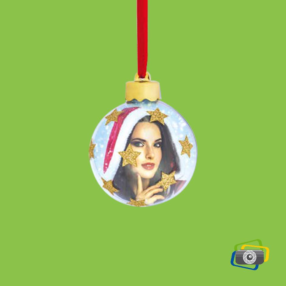 Palla di Natale photo star