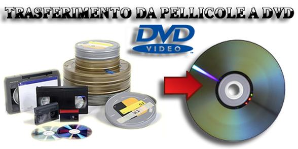 riversamento in dvd perugia